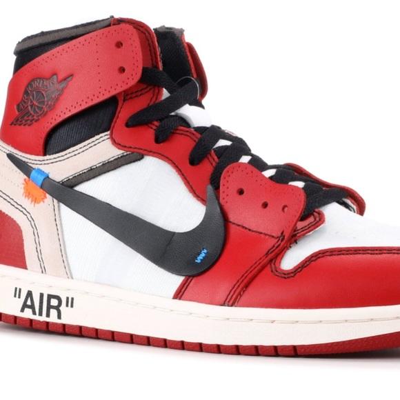 8133440ecb75bf Air Jordan 1 off white Chicago